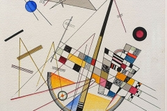 Delicate_Tension_by_Wassily_Kandinsky_1923_AD