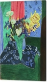 arum-irises-and-mimosa-blue-vase-with-flowers-on-a-blue-tablecloth-1913-henri-matisse-canvas-print