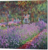 the-artists-garden-at-giverny-claude-monet-canvas-print