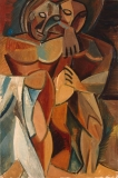 Pablo_Picasso_1908_Lamitie_Friendship_Two_Nudes_oil_on_canvas_151.3_x_101.8_cm_Hermitage_Museum