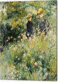 conversation-in-a-rose-garden-pierre-auguste-renoir-canvas-print