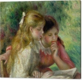the-reading-pierre-auguste-renoir-canvas-print