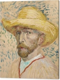 7-self-portrait-with-straw-hat-vincent-van-gogh-canvas-print