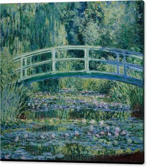 Claude Monet Giclee Print Japanese Bridge on Canvas